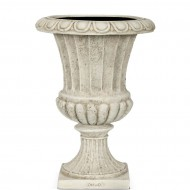 Вазон Capi Classic French Vase 27Dx50H Ивори