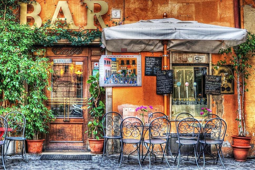 Озеленение веранды ресторанов