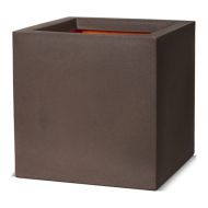 Кашпо CAPI TUTCH PLANTER SQUARE 30x30x30H коричневый