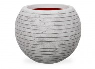 Кашпо CAPI Nature Vase Ball Row 42Dx48H Ивори