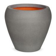 Кашпо CAPI TUTCH VASE TAPERED ROUND 42Dx38H серый