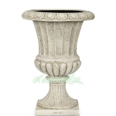 Вазон Capi Classic French Vase 15Dx30H Ивори